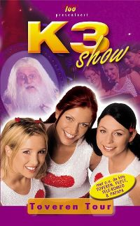 Cover K3 - Toveren Tour Show [DVD]